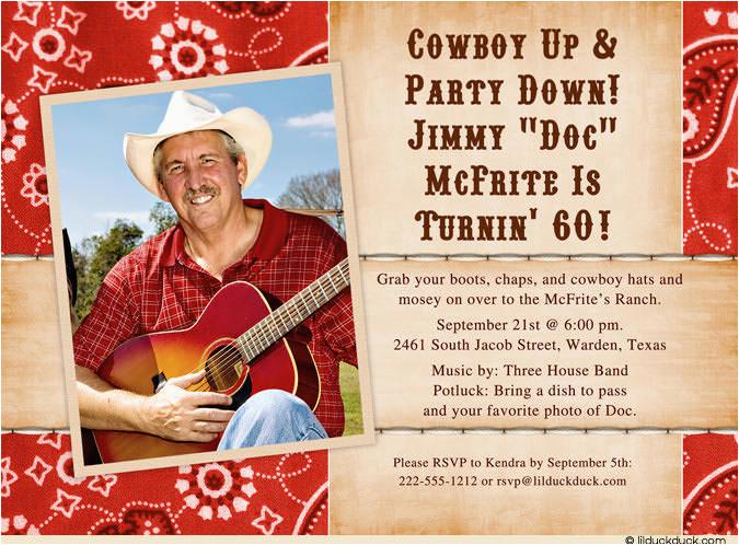 Western Birthday Invitations For Adults Cowboy Invitation Ideas Bagvania Free Printable