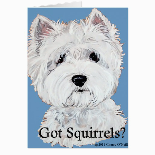 greeting cards west highland white terrier greeting cards