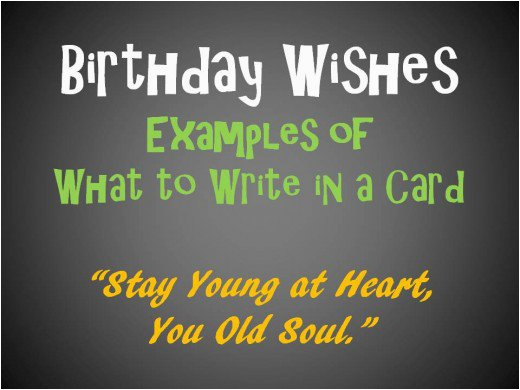 Birthday Card Messages What To Write In A