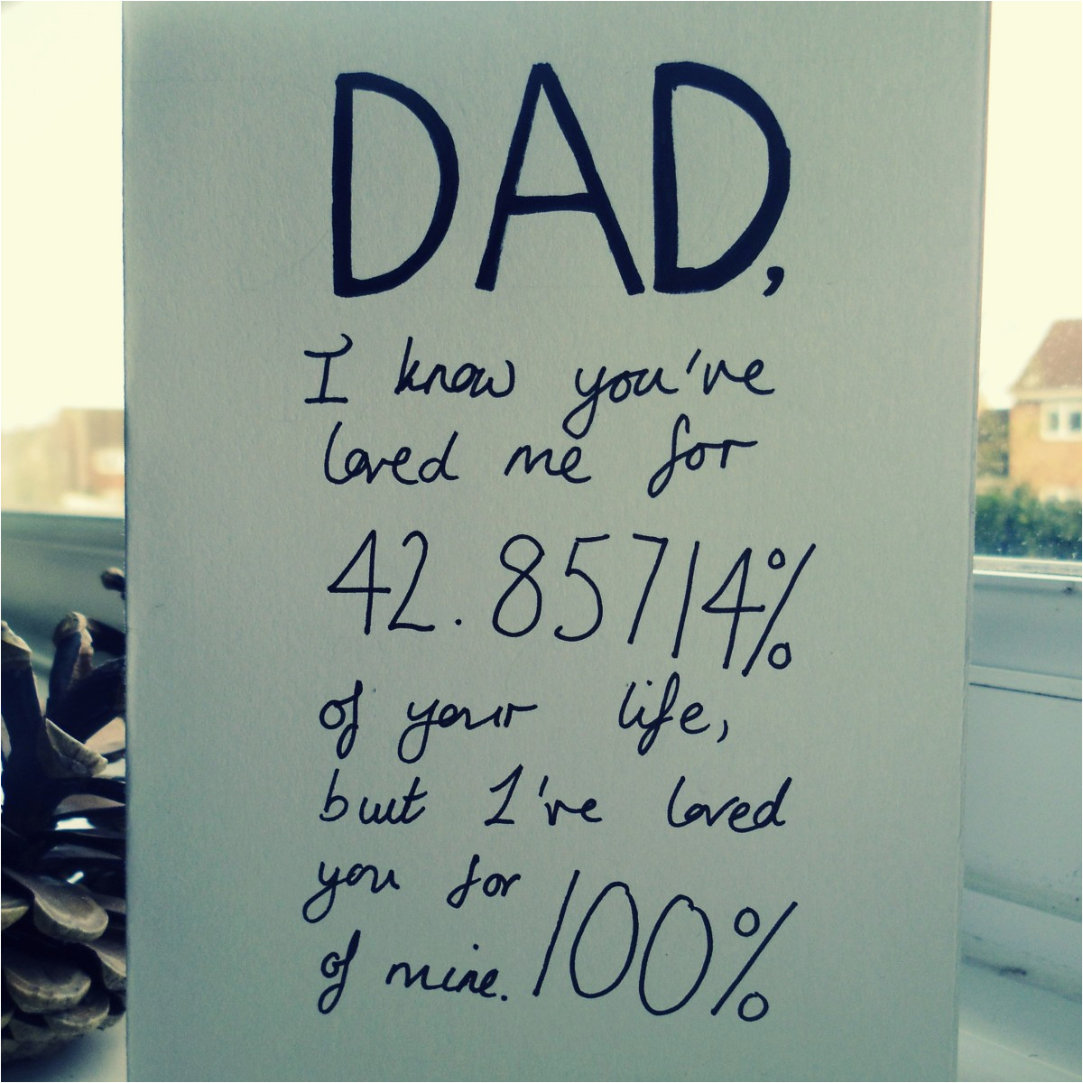 what to write in a birthday card for dad