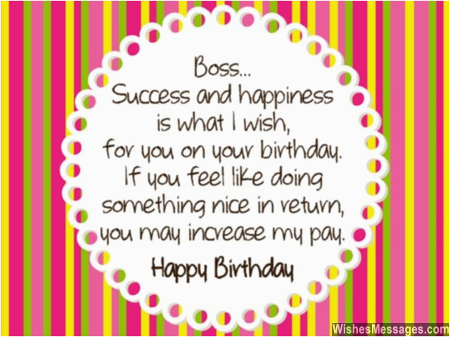 What To Write In A Birthday Card For Your Boss Wishes Quotes And