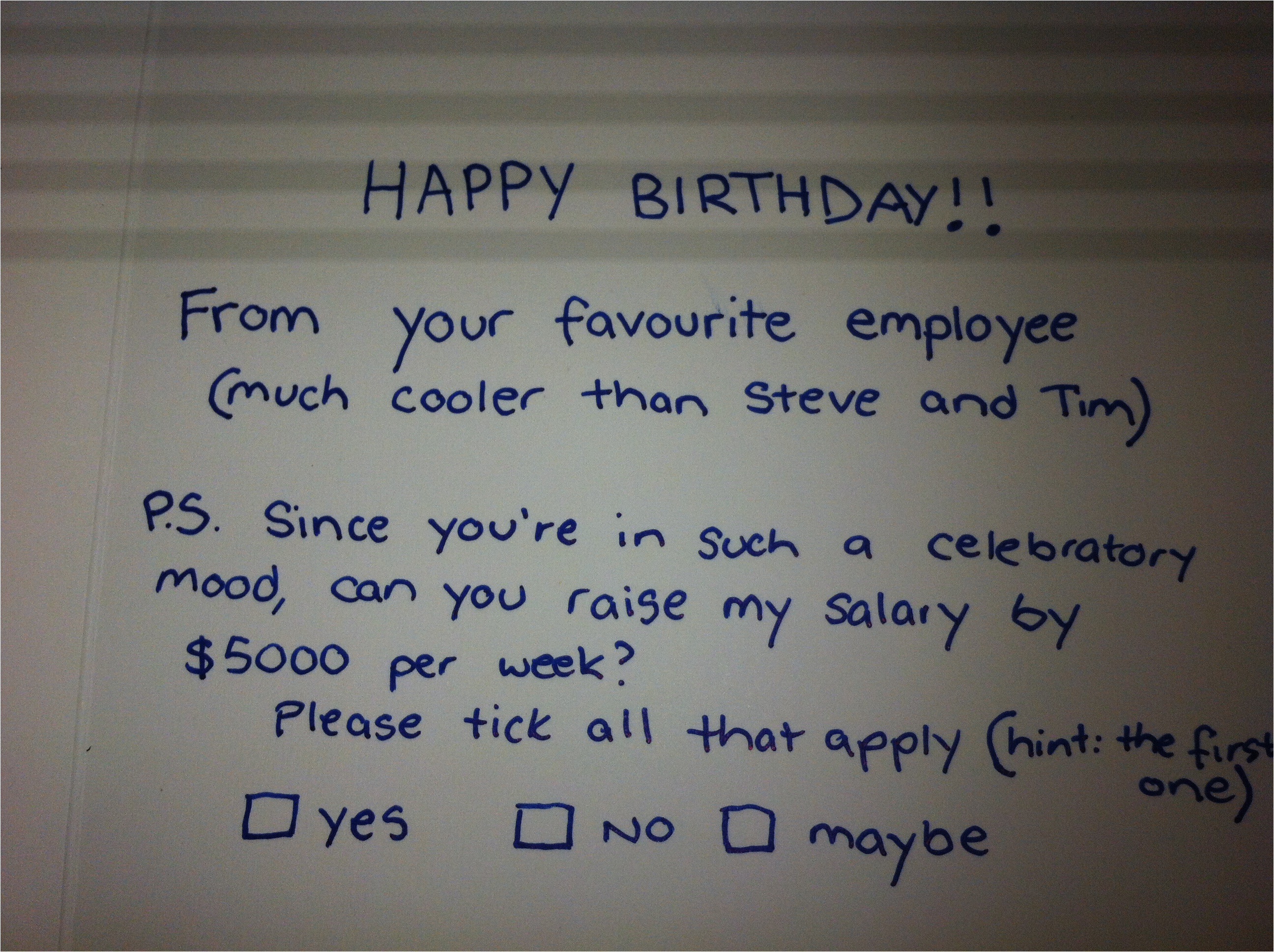 What to Write In A Birthday Card for Your Boss Lesson 75 asking Your Boss for A Payrise Via A Birthday