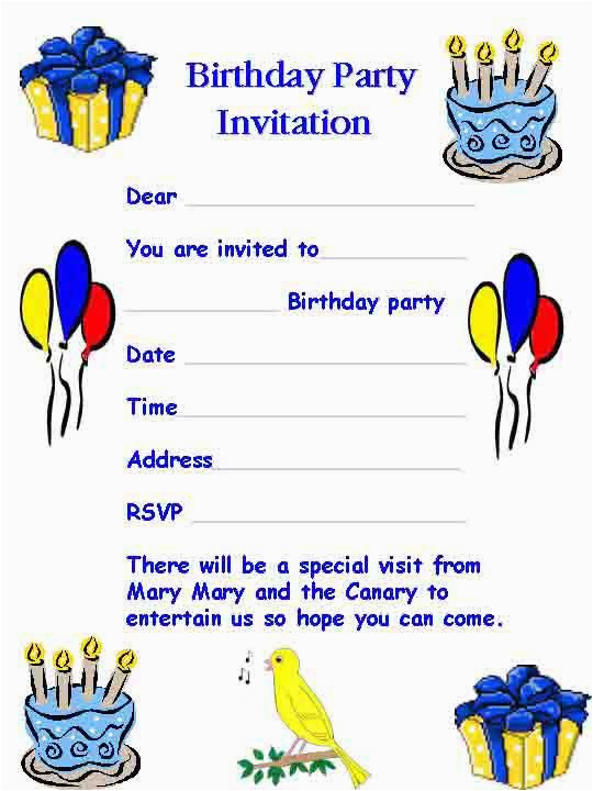 What To Write In A Surprise Birthday Invitation Letter