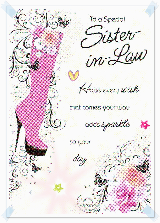 happy birthday sister in law quotes