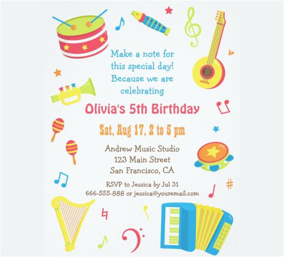 What To Write On Birthday Invitations 39 Kids Invitation