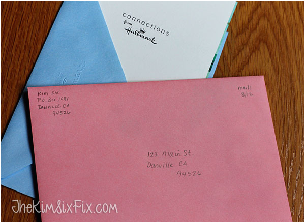 What to Write On the Envelope Of A Birthday Card Addressing Greeting Cards Jpg