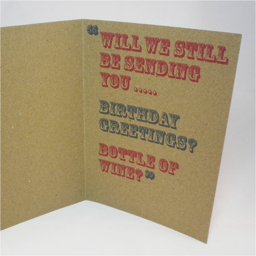 when you re 64 birthday card