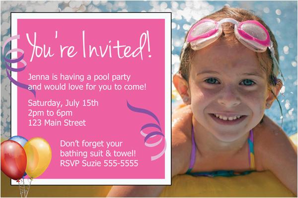 diy birthday party invitations
