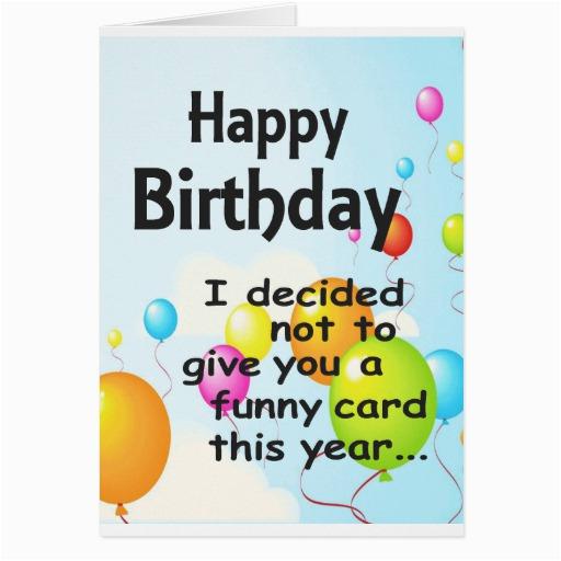 Where to Buy Funny Birthday Cards Humorous Printable