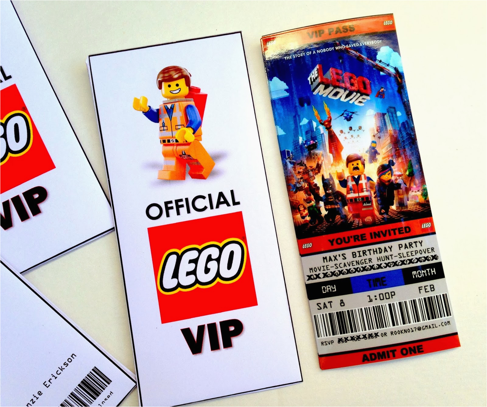 lego movie birthday party ideas