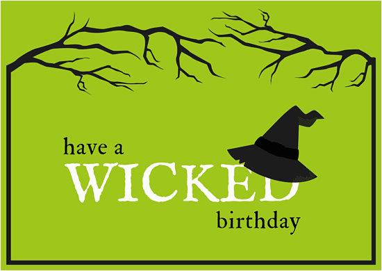 mab6py0 ztq green wicked halloween birthday card