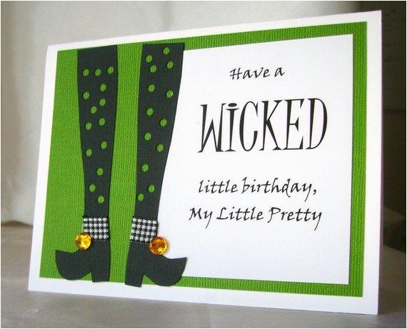 wicked birthday card birthday wishes