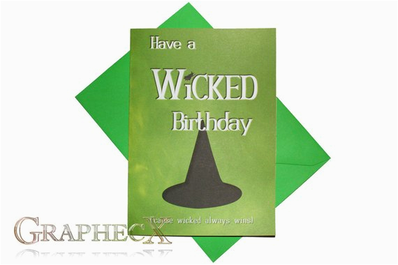 wicked inspired personalized birthday