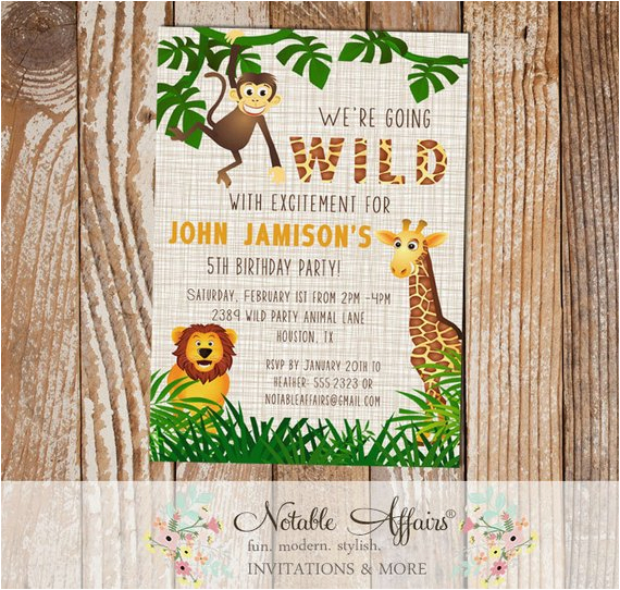 wild excitement jungle theme zoo animal 4