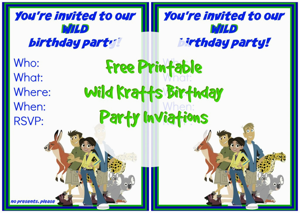 Wild Kratts Birthday Party Invitations Dr Seuss Birthday Party Suzy Homeschooler