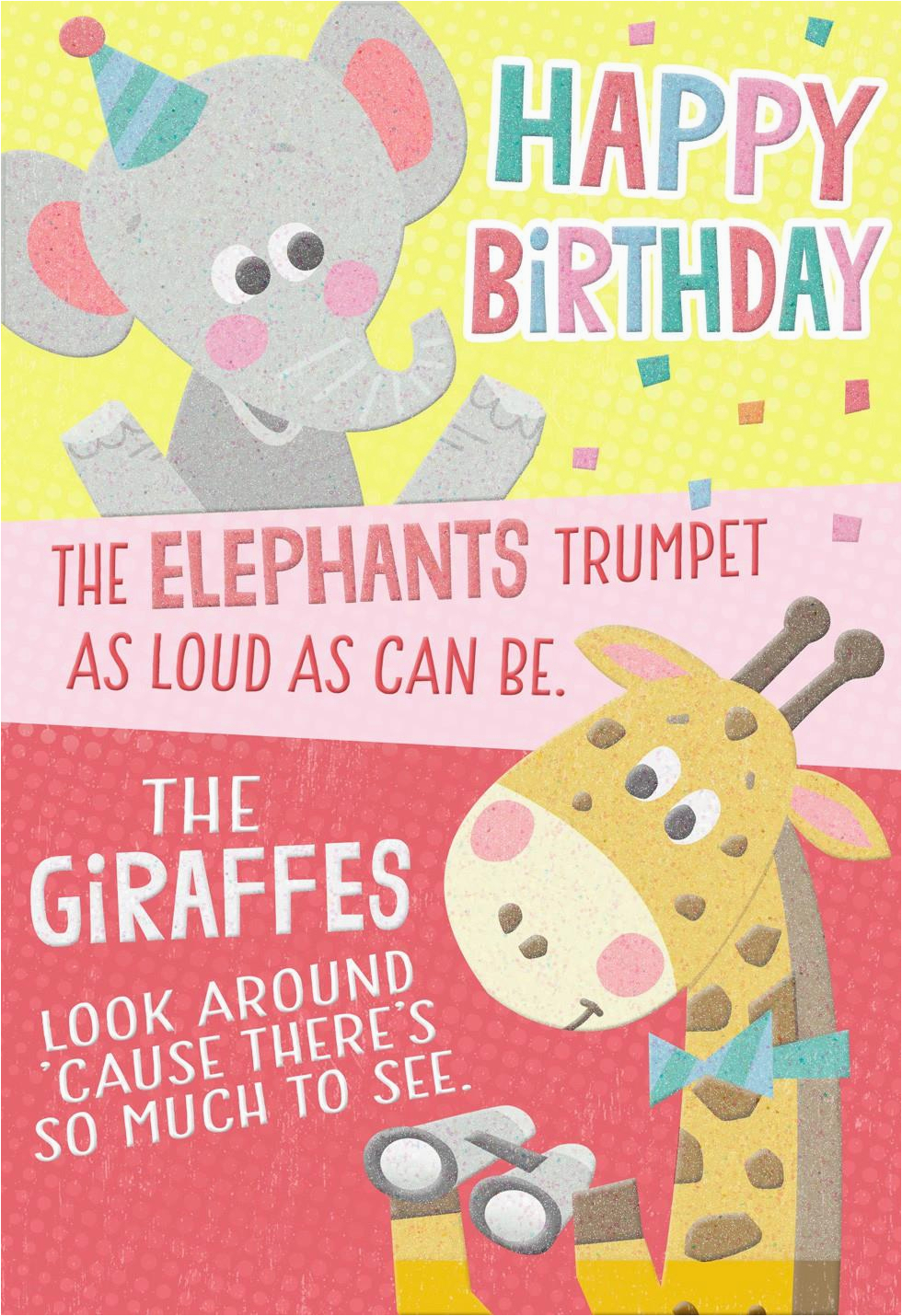 Wildlife Birthday Cards Wild Animals Card Greeting Hallmark