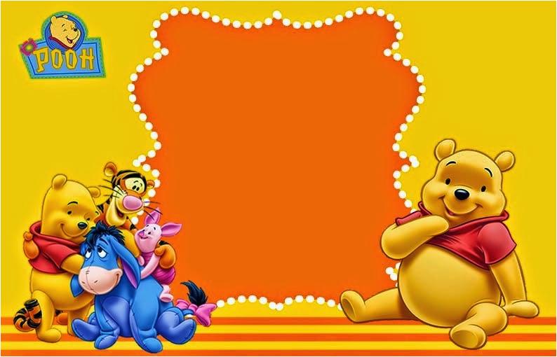 winnie pooh party free printable