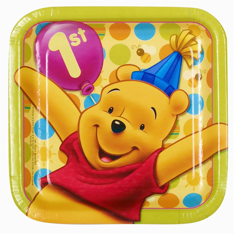 winnie pooh boys first birthday party