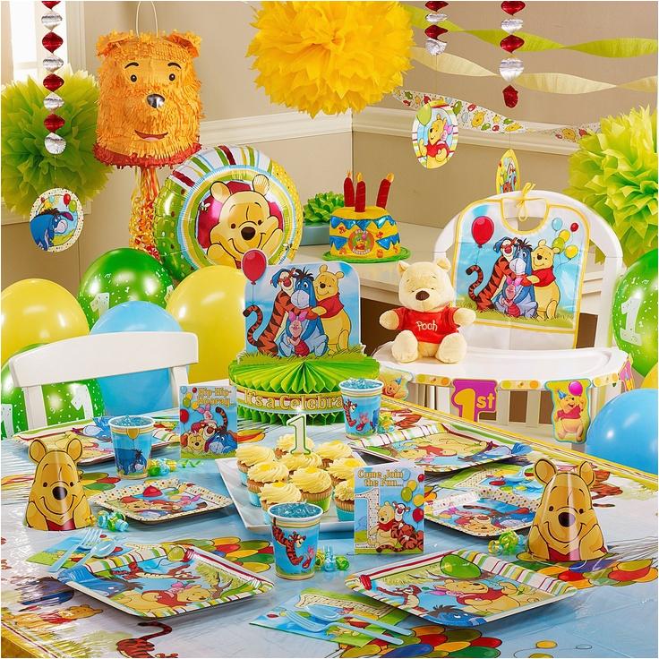 winnie the pooh pals 1st birthday ideas