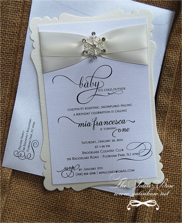 winter baby shower invitations wording