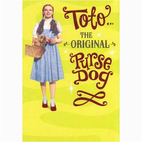 amazon com greeting card birthday wizard of oz quot toto