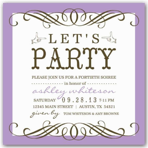 Wording For A 50th Birthday Invitation Party Invitations New