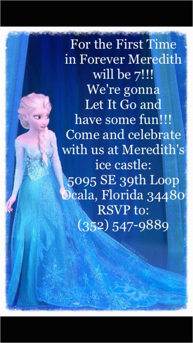 frozen birthday invitation wording with some beautification for your birthday invitation templates to serve alluring environment 6