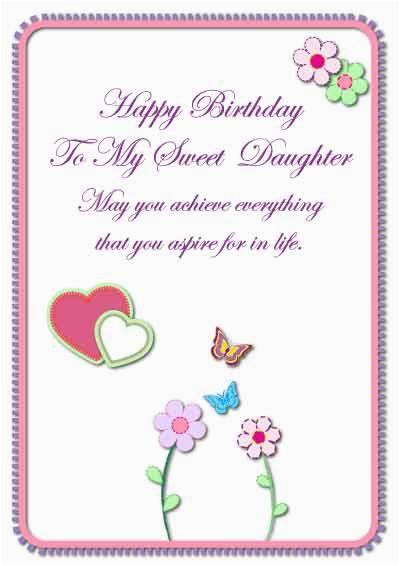 daughter birthday cards my free printable cards com
