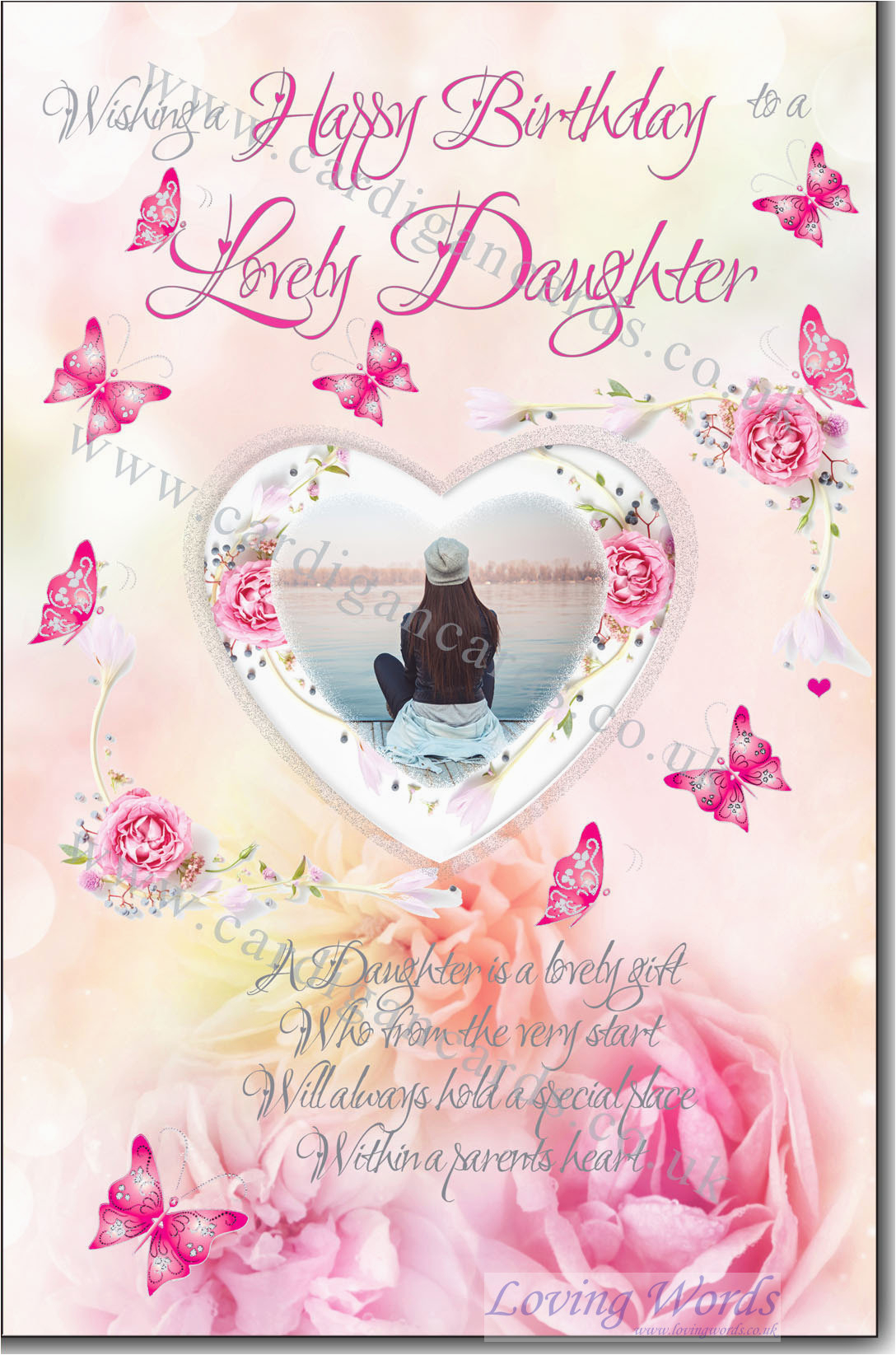 daughter birthday greeting cards by loving words