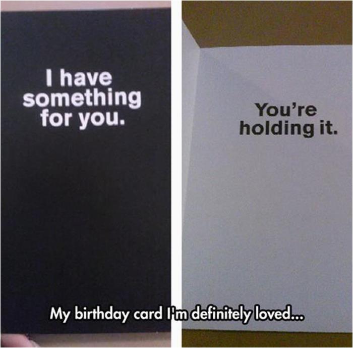 the 4t worst birthday card ever