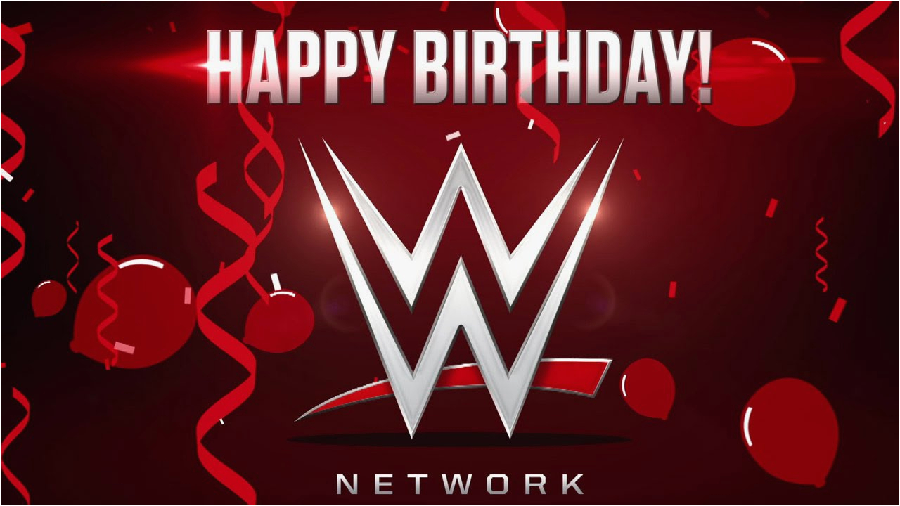 Wwe Birthday Cards Happy Birthday Wwe Network Youtube