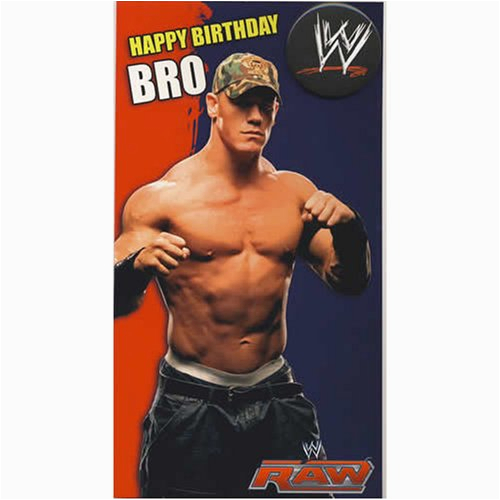 wwe wrestling birthday cards