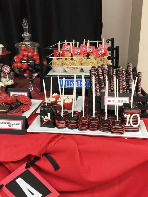 cool wwe birthday party ideas