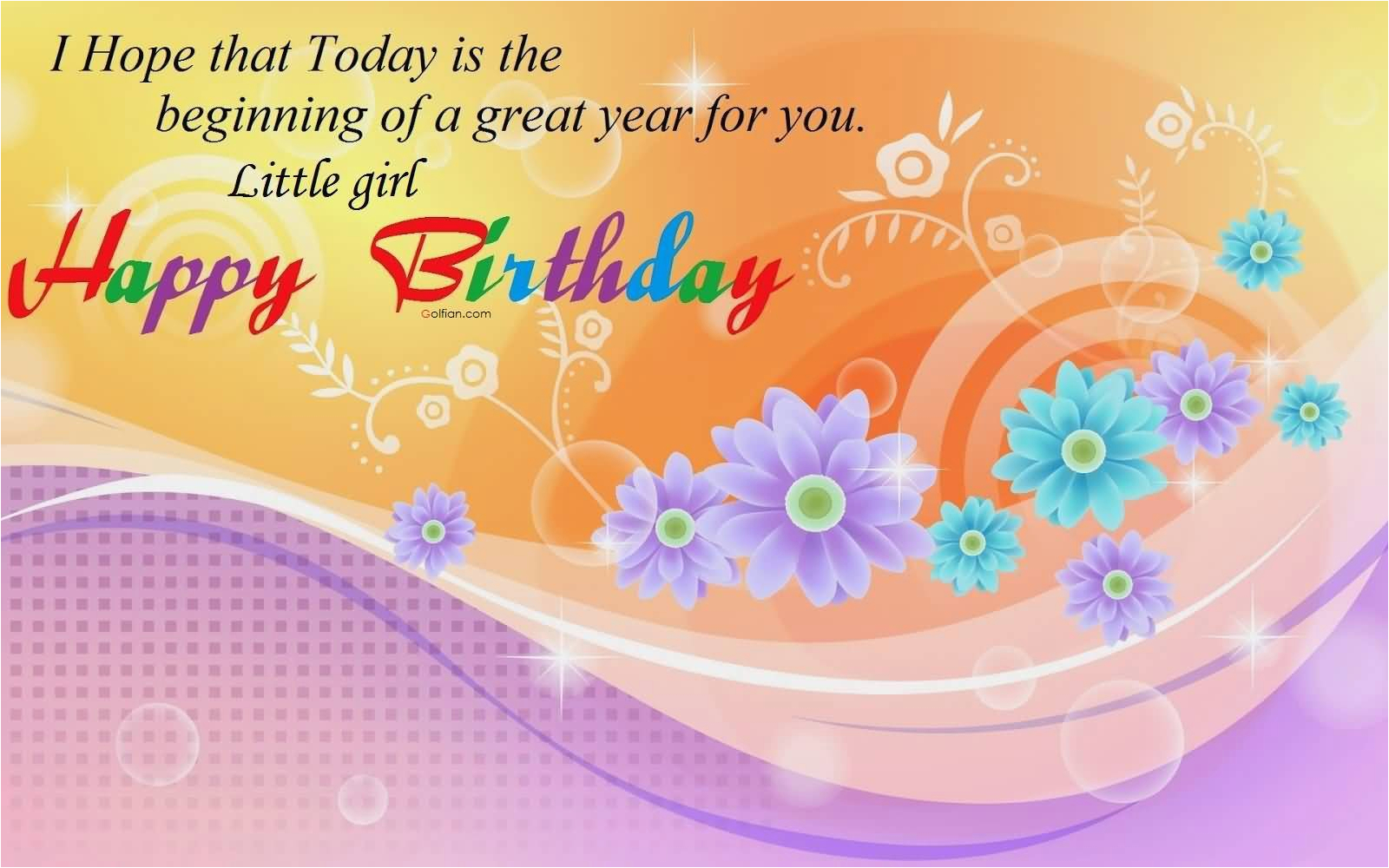 50 beautiful birthday wishes for little girl popular birthday messages
