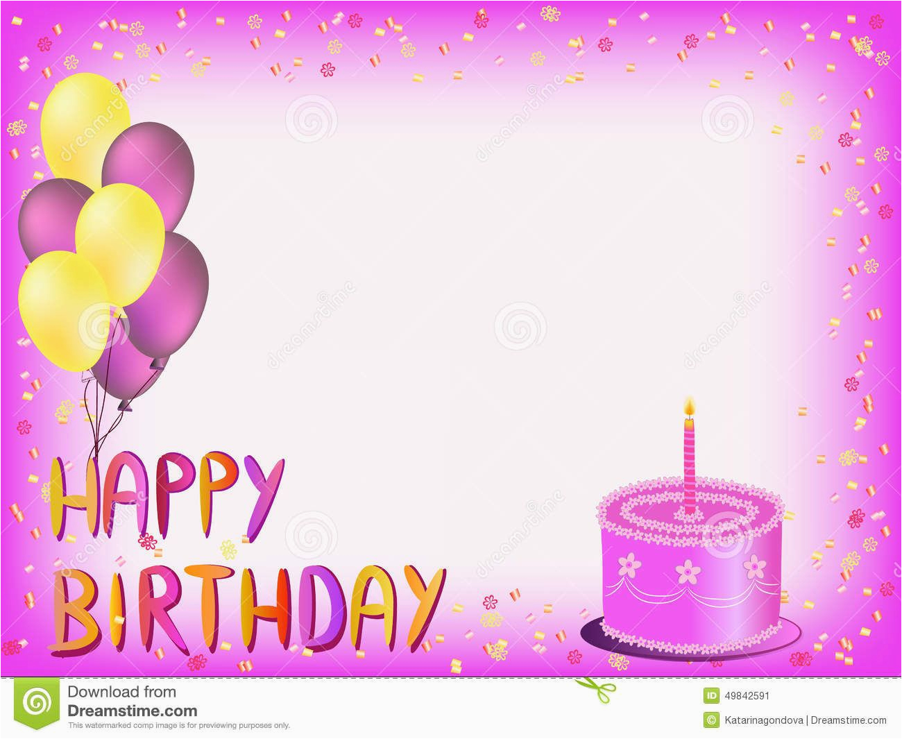 Www.birthday Cards Wishes Happy Birthday Greeting Card Have A Happy Pinterest