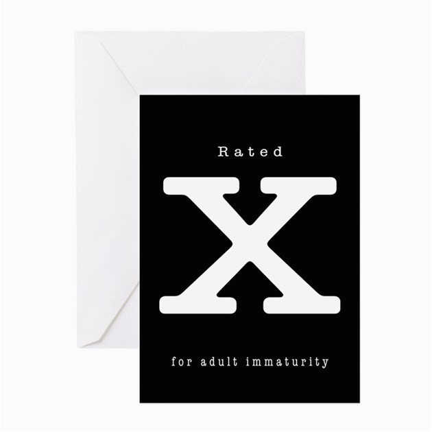 x rated greeting card by artisticlimits