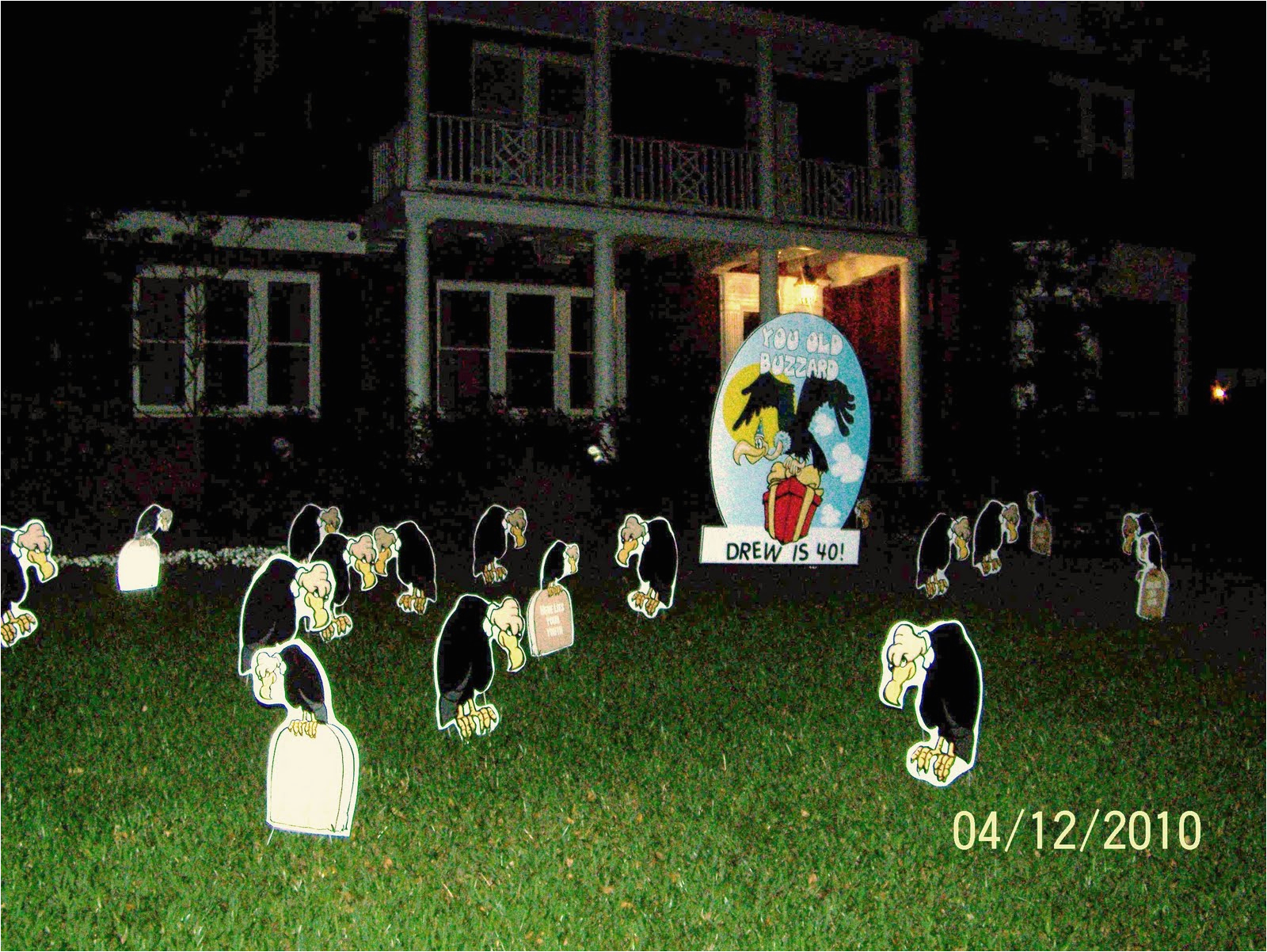 Yard Decorations For 40th Birthday Ideas Outdoor