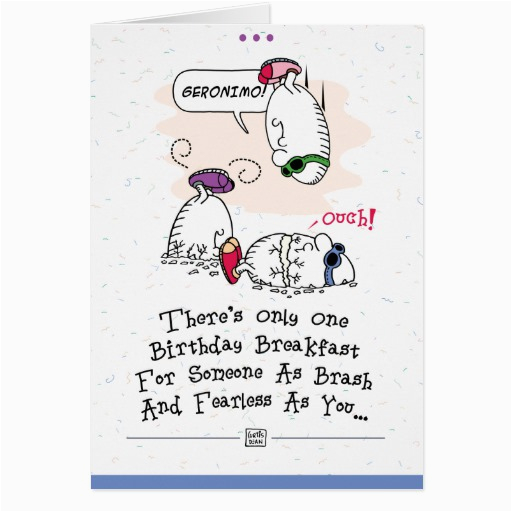 funny birthday greeting card zazzle