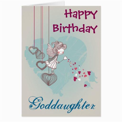 goddaughter birthday card zazzle