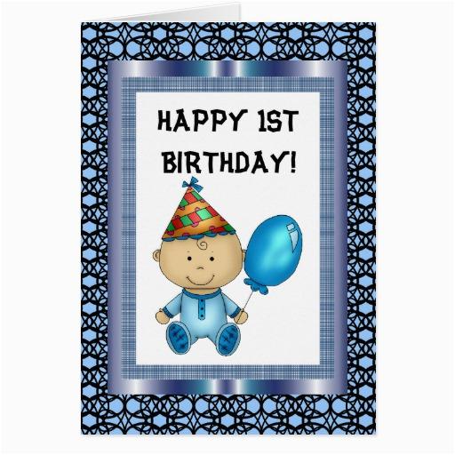 happy 1st birthday card zazzle