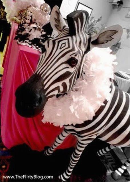 sweet 16 zebra print written