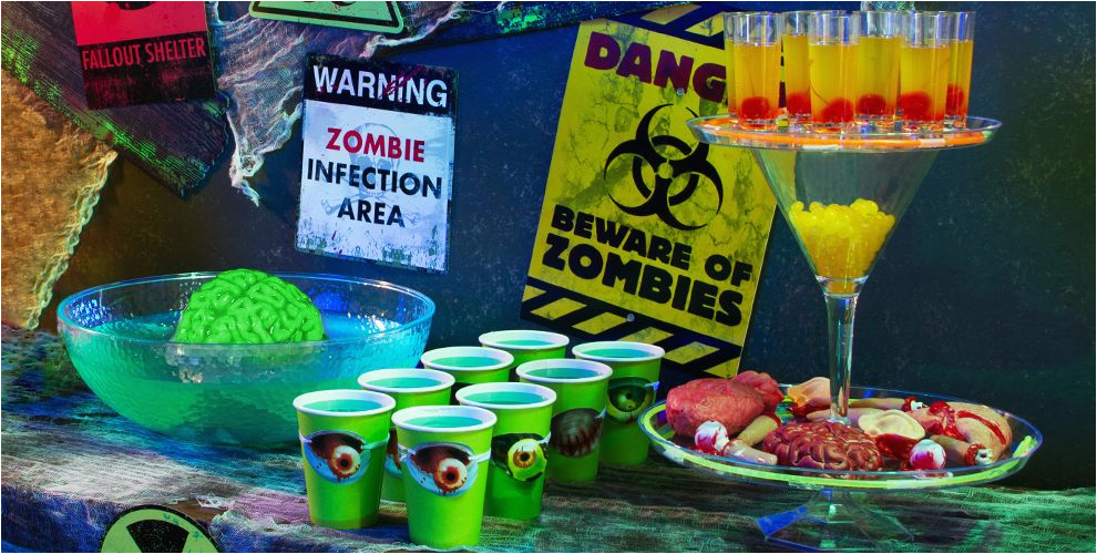 zombie halloween party supplies do