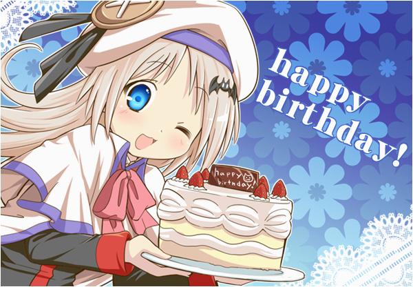 anime birthday clipart