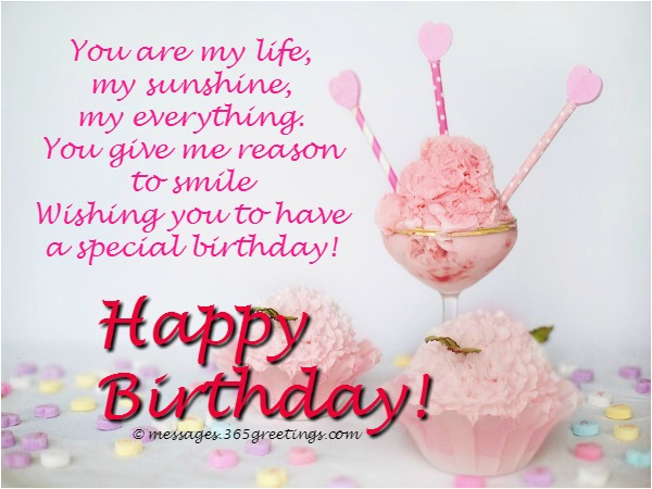 sweet birthday wishes for your girlfriend images