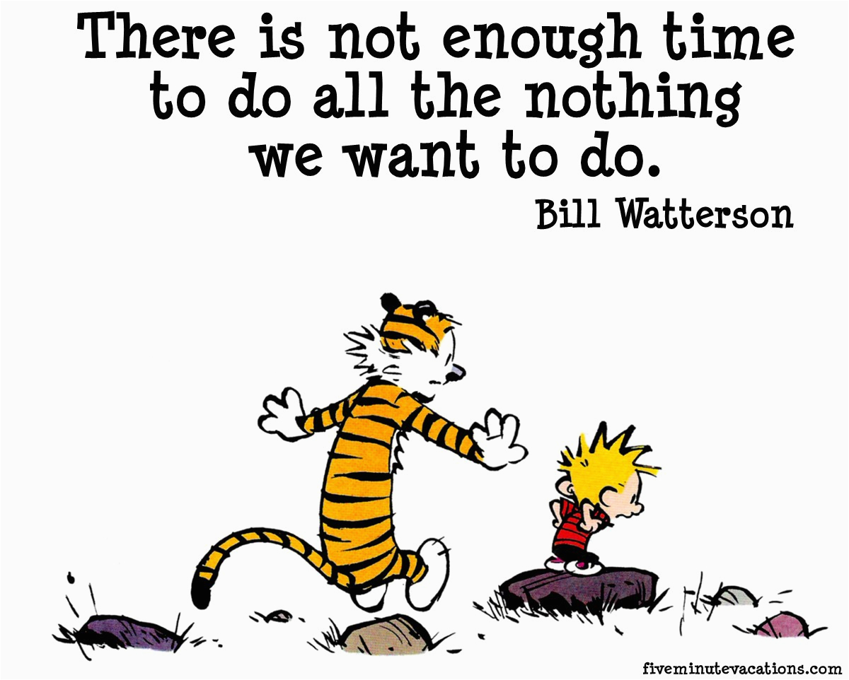 calvin and hobbes goodbye quotes