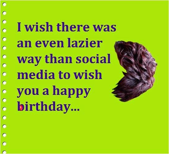 funny ways to say happy birthday on