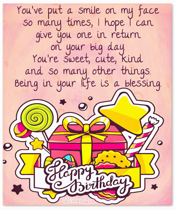sweet birthday messages wishes gift ideas