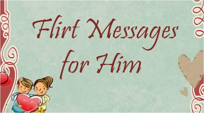 flirty birthday text for him