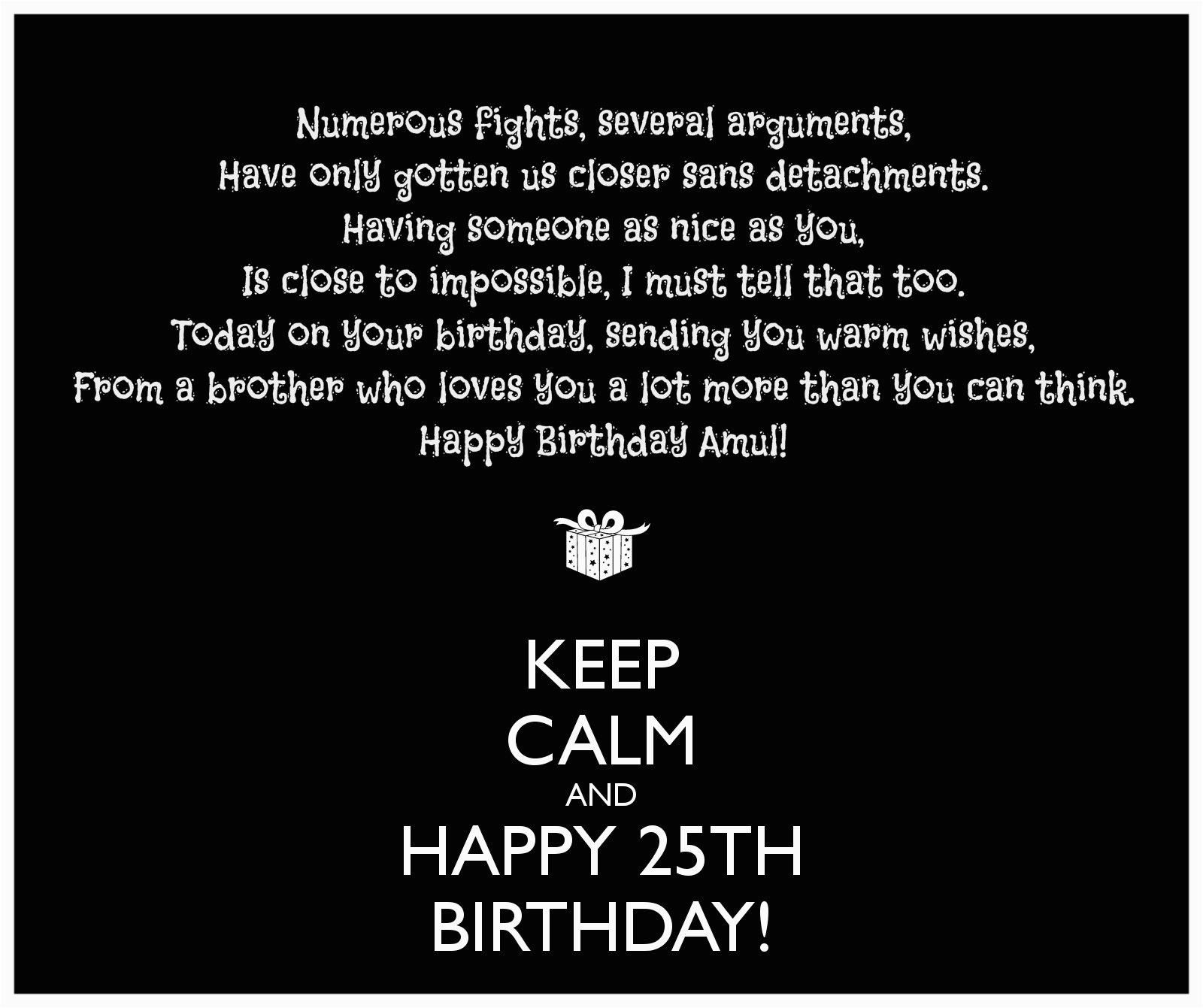 happy 25th birthday quotes funny