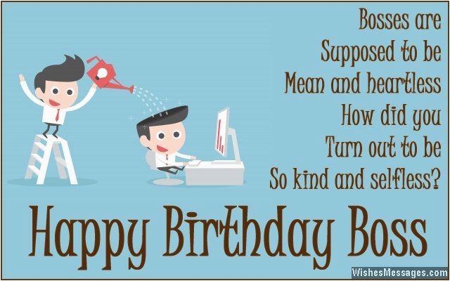 birthday quotes for your boss